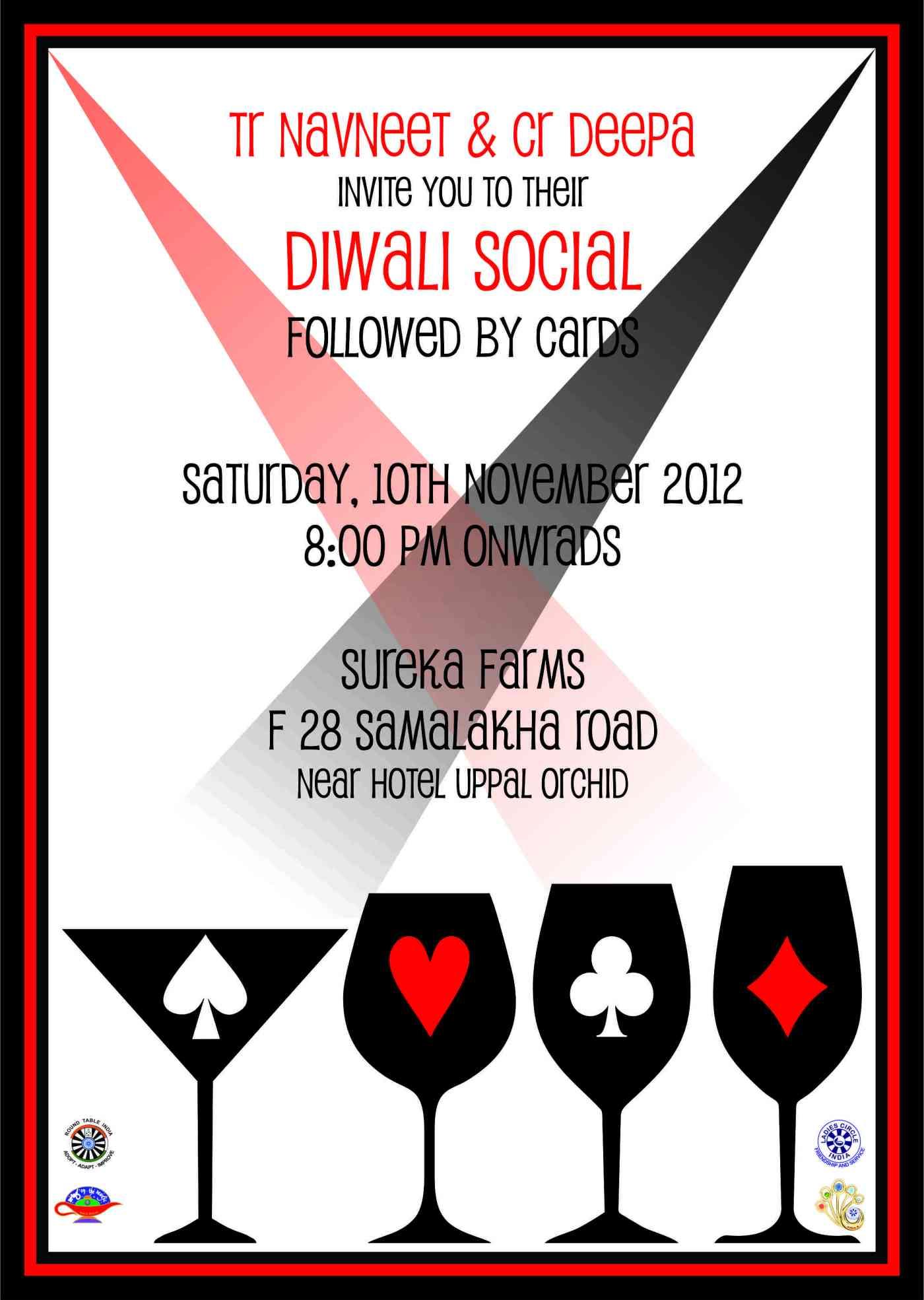 Invitation for Diwali get together on 10th Nov, 2012 – GLMF DMRT 149 ...