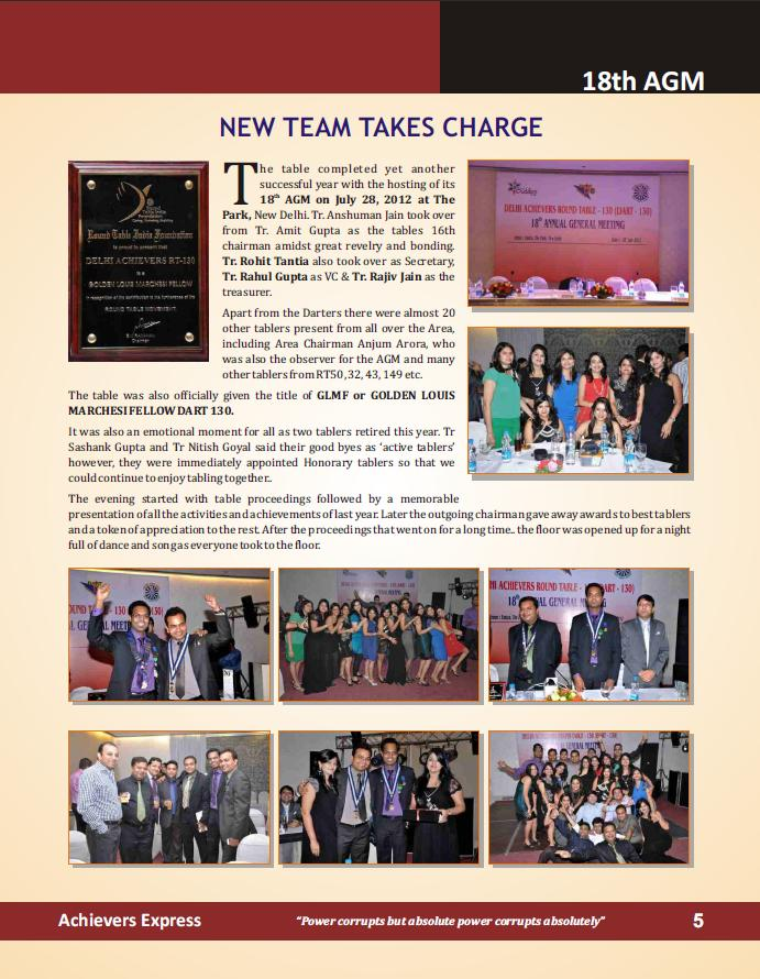 achievers express Nov 2012 -5