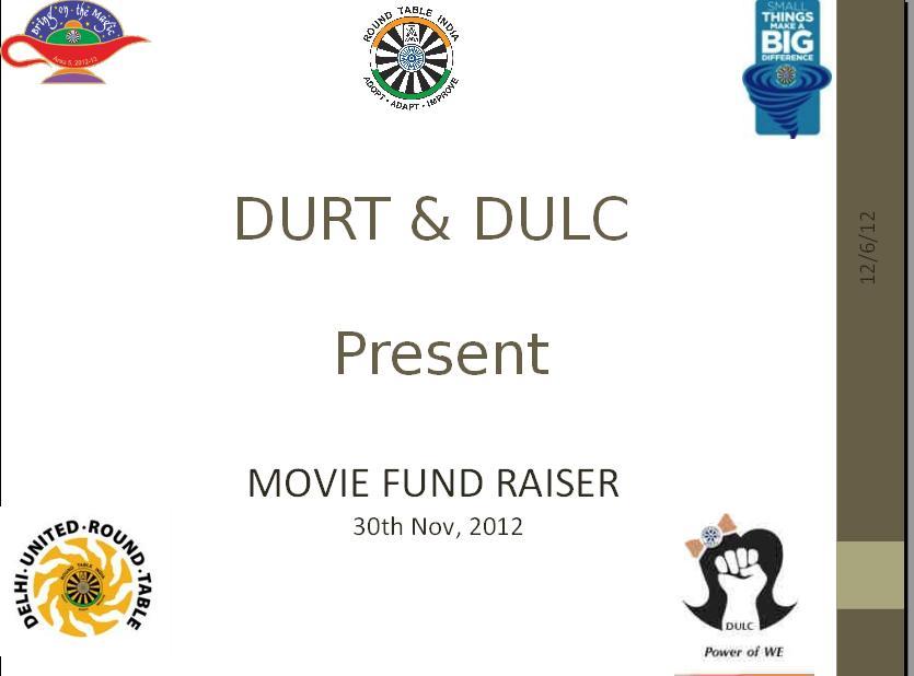 Movie Fund Raiser 1